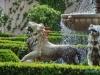 Włoski ogród renesansowy w Hamilton Gardens - Hamilton; Nowa Zelandia