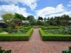 Ogród ziołowy w Hamilton Gardens - Hamilton; Nowa Zelandia