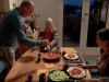 Kopytka i gulasz - w domu Chris i Warwicka w Omokoroa; Nowa Zelandia