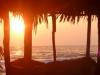 Wschód słońca na Chachauate - Cayos Cochinos; Honduras
