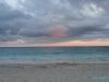 Wschód słońca nad Morzem Karaibskim, Tulum; Meksyk