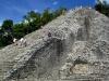 Piramida Nuhoch Mul (42 m) w mieście Majów w Coba; Meksyk