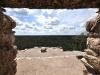 Widok z piramidy Nuhoch Mul (42 m) w mieście Majów w Coba; Meksy