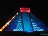 Późnym wieczorem w Chichen Itza; Meksyk