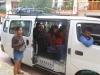 Colectivo (niewielki busik,którym podróżują miejscowi i turyści z małym budżetem); Meksyk