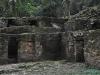 W ruinach miasta Majów pod Palenque; Meksyk