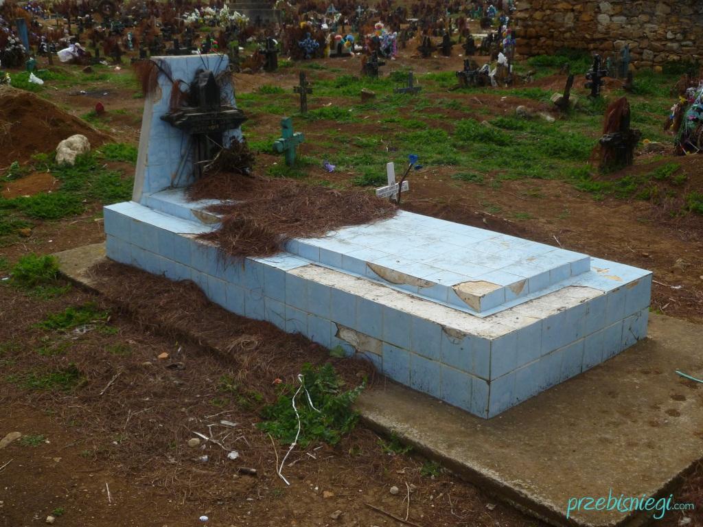 Cmentarz w San Juan Chamula; Meksyk