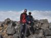 Na szczycie wulkanu Tajamulco (4220m n.p.m.); Gwatemala