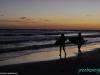 Zachód słońca nad Oceanem Spokojnym, El Sunzal; Salwador