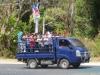 Czekając na autobus przed El Congo; Salwador