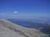 Widok ze szczytu wulkanu Santa Ana; Salwador