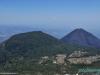 Widok ze szczytu wulkanu Santa Ana (w tle wulkan Izalco); Salwador