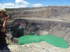 Nad kraterem wulkanu Santa Ana; Salwador