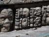 Pozostałości miasta Majów w Copan Ruinas; Honduras