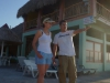 Ewelina i Jaime, w okolicach La Ceiba; Honduras