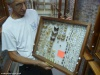 Eksponaty z Polski, w Muzeum Motyli i Innych Insektów w La Ceiba; Honduras