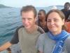 Przeprawa przez Morze Karaibskie w drodze powrotnej z Cayos Cochinos; Honduras