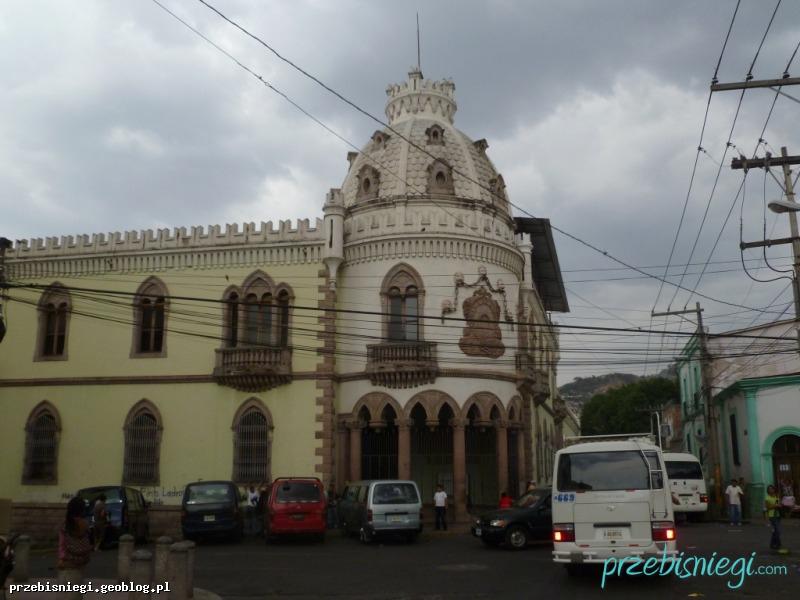 W Tegucigalpie; Honduras