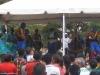 Pokaz tradycyjnego tańca Garifuna w Tegucigalpie; Honduras