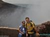 W Masaya Volcano National Park - nad kraterem Santiago; Nikaragua