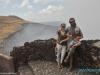 W Masaya Volcano National Park - młody Izraelczyk z rodziną; Nikaragua