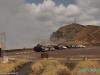 W Masaya Volcano National Park - na wypadek wybuchu wulkanu samochody należy pakować tyłem do krateru; Nikaragua