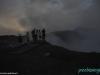 Na nocnej wycieczce w Masaya Volcano National Park - nad kraterem Santiago; Nikaragua
