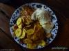 Obiadek - w hostelu La Libertad w Granadzie; Nikaragua