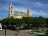 Park centralny w Granadzie; Nikaragua