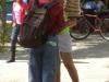 Uliczny sprzedawca - w Granadzie; Nikaragua