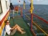W drodze na wyspę Ometepe; Nikaragua