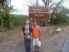 W drodze na wulkan Concepción - Łukasz i Jose; Nikaragua