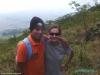 W drodze na wulkan Concepción - Ewelina i Jose; Nikaragua