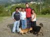 Łukasz, Jose Ruben i jego rodzina - Palmital Norte; Kostaryka
