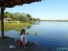 Nad jeziorem kilka kilometrów od Concepción; Boliwia