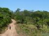 W drodze do parku przy wiosce Candelaria niedaleko Concepción - podczas Świeta Orchidei; Boliwia