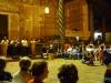Koncert popularnego boliwijskiego zespołu muzycznego podczas Święta Orchidei w Concepción; Boliwia