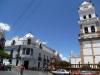 Przy Plaza 25 de Mayo w Sucre; Boliwia