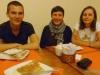 Leo, Sophie, Ewelina - w Sucre; Boliwia