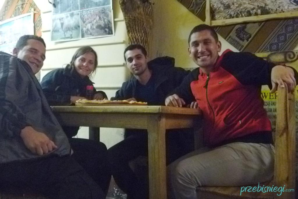 Michel, Ewelina,Hedy i Dyego - Potosí; Boliwia