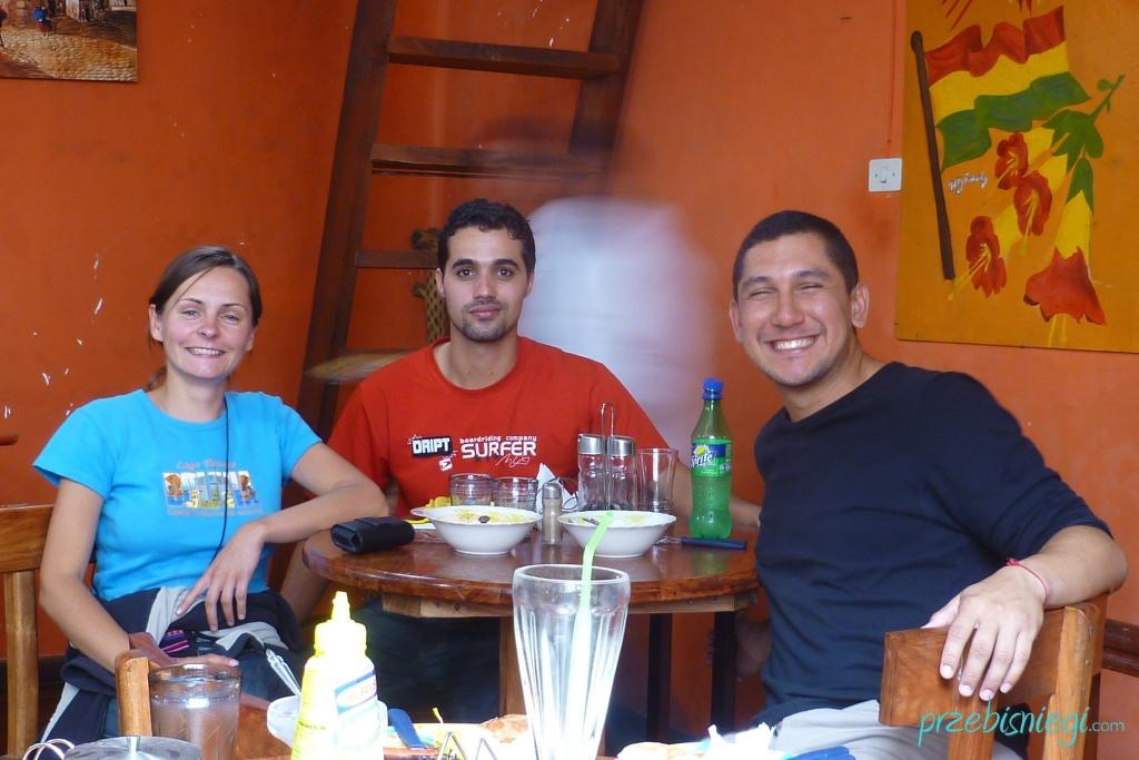 Z Dyego i Hedy z Brazylii - Potosí; Boliwia