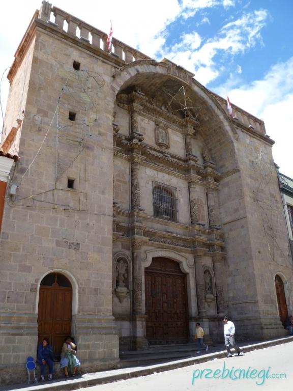 Przy głównym placu w Potosí; Boliwia