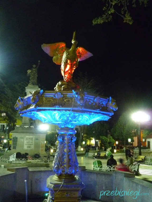 Potosí nocą; Boliwia