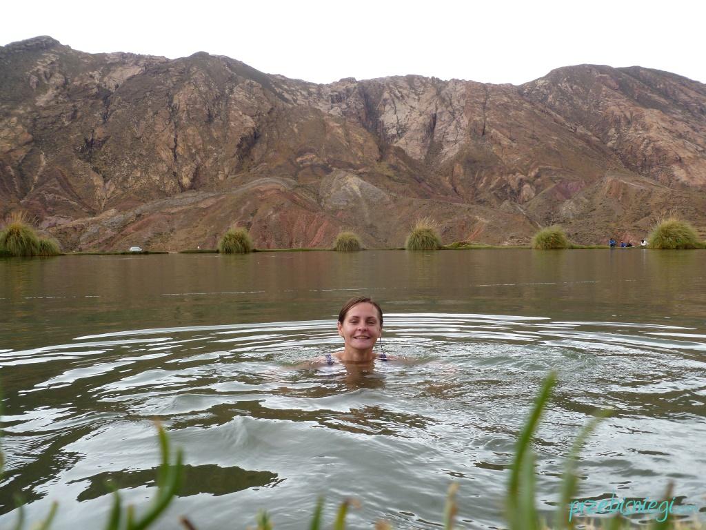 Laguna de Tarapaya (Ojo del Inca) - okolice Potosí; Boliwia