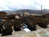 Przed wejściem do kopalni srebra w Cerro Rico – Potosí; Boliwia