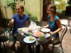 Krzysiek i Agnieszka w hostelu San Lazaro Lodge w Arequipie; Peru