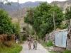 Agnieszka i Krzysiek w drodze nad wodospad Sipia - kanion Cotahuasi; Peru