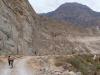 W drodze nad wodospad Sipia - kanion Cotahuasi; Peru