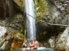 Wodospad przy Ushua - najgłębszej części kanionu Cotahuasi; Peru
