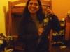 Alejandra z Kolumbii i butelka pisco puro od Juanca, Sylwester 2012/13 - Arequipa; Peru